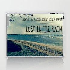 RAINING ON THE NORTH SHORE  Laptop & iPad Skin