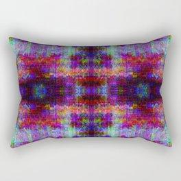 A Glitch In Time Rectangular Pillow