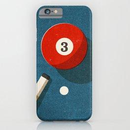 BILLIARDS / Ball 3 iPhone Case