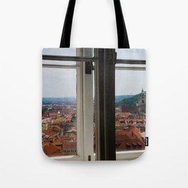 Through the Windows of Prague Castle Tote Bag