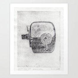 Keystone Capri K30 8mm Camera - sp 1 of 2  Art Print