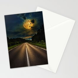 Full Moon #1 Stationery Cards