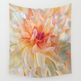 Dancing Dahlia Wall Tapestry