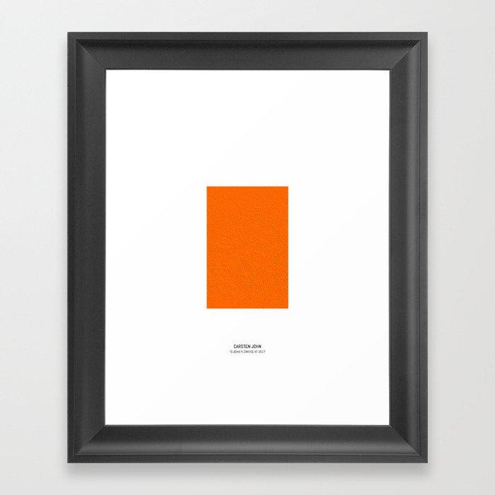 CLICHA FLOWERS III Framed Art Print