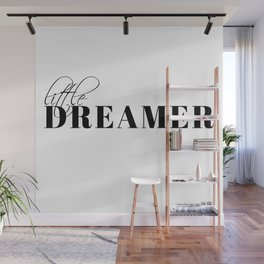 little dreamer Wall Mural