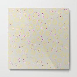 Speckle III Metal Print