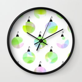 Dress Up The Tree Wall Clock