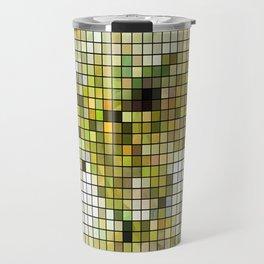 Pale Yellow Poinsettia 1 Mosaic Travel Mug