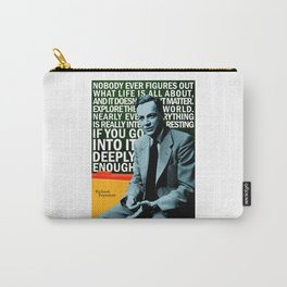 Richard Feynman Quote 1 Carry-All Pouch