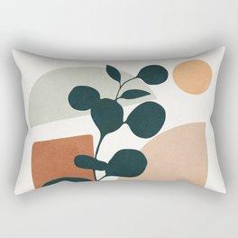 Soft Shapes V Rectangular Pillow