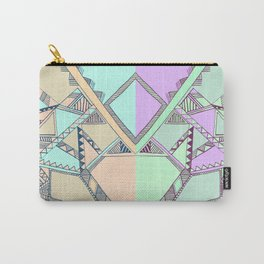 Aztec print illustration Carry-All Pouch
