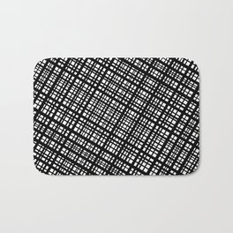 The Bauhaus Grid, diagonal pattern Bath Mat
