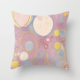 Hilma af Klint - The Ten Largest, No. 8, Adulthood Throw Pillow