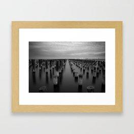 Princes Pier, Port Melbourne Framed Art Print