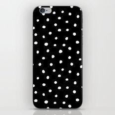 Black And White Polka Dot iPhone & iPod Skin
