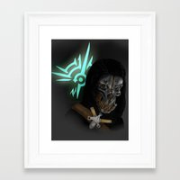 dishonored Framed Art Prints featuring Dishonored by Hetty's Art