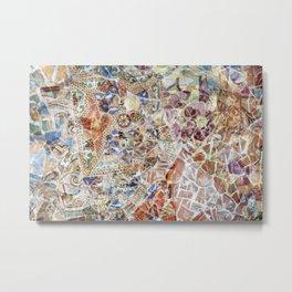 Mosaic of Barcelona IV Metal Print