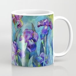 Fantasy Irises Coffee Mug