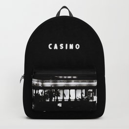 Black & White-Casino Backpack