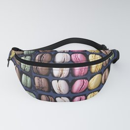 Macarons. French dessert Fanny Pack