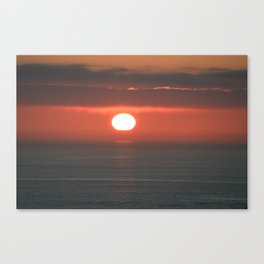 the dying heat Canvas Print