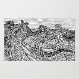 Crashing Waves Rug