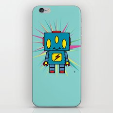 Vintage Kid Robot iPhone & iPod Skin