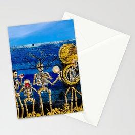Villa de Zaachila, Oaxaca Dia de los Muertos Mural Stationery Cards