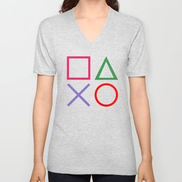 Gamer - Retro Unisex V-Neck