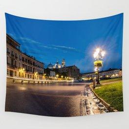Padova at night Wall Tapestry