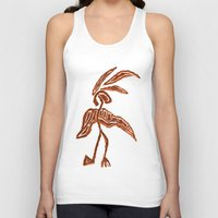 greg guillemin Tank Tops featuring Rain Dancer by Greg Phillips by SquirrelSix