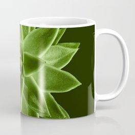 Greenery succulent Echeveria agavoides flower Coffee Mug