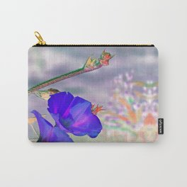 Blue Glories in the Morning - Inverted Art Carry-All Pouch