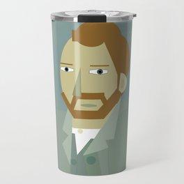 Vincent Van Gogh illustration Travel Mug