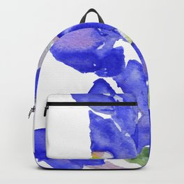 Bluebonnet Watercolor Backpack