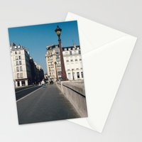 Perfect Day in Paris - Ile Saint Louis Stationery Cards