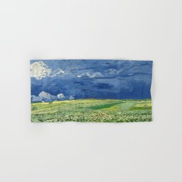 Vincent van Gogh - Wheatfield Under Thunderclouds Hand & Bath Towel