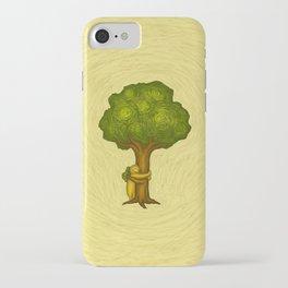 Tree Hugger iPhone Case