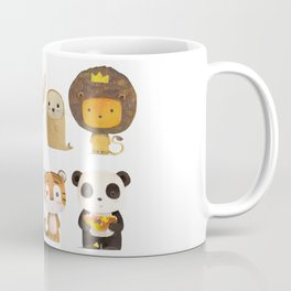 Mr. Lion & His Friends Coffee Mug
