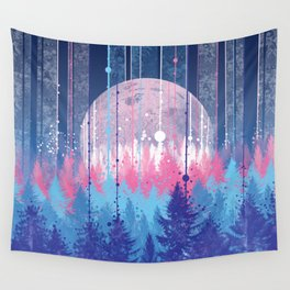 Rainy forest Wall Tapestry