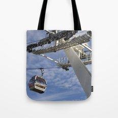 Emirates Cable Car London Tote Bag