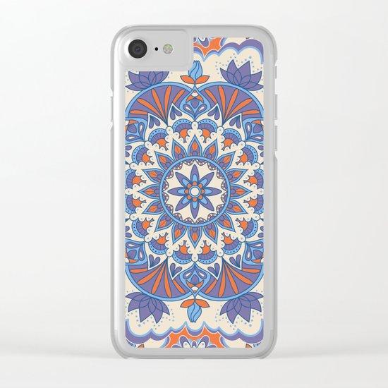 Mandala 59 Clear iPhone Case