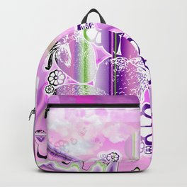 Psychedelic Paradise Backpack
