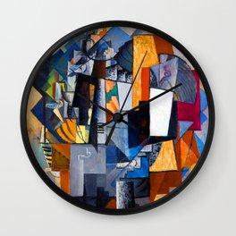 Kazimir Malevich Bureau and Room Wall Clock