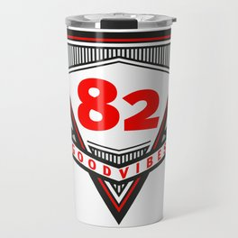 Good Vibes 1982 Travel Mug