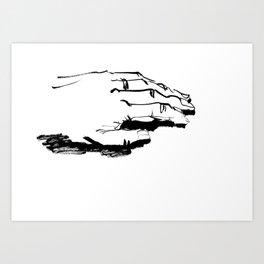 Nonpossessive Art Print