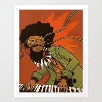 Herbie Hancock - Mwandishi Art Print