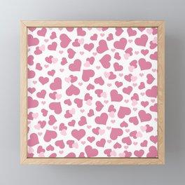 Love Hearts Framed Mini Art Print