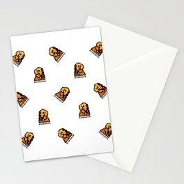 Proud Parent of Golden Retriever Boy - Pattern Version Stationery Cards