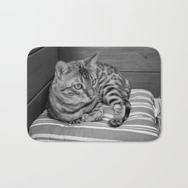 Bengal cat Bath Mat
